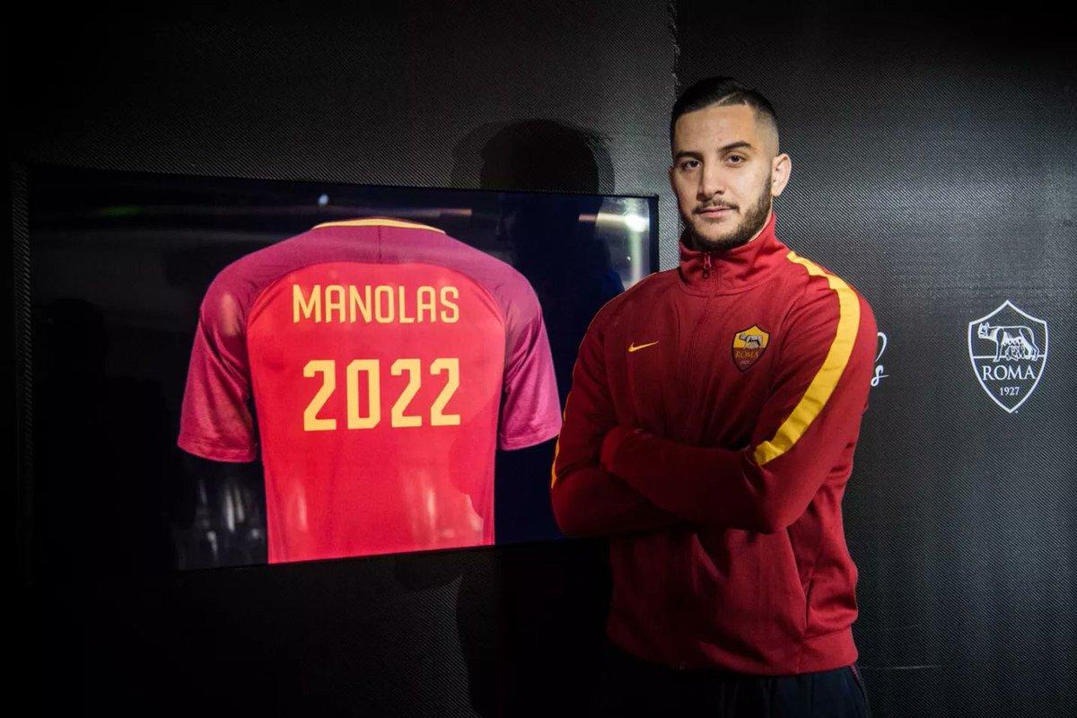 Kostas Manolas đang được AS Roma định đoạt