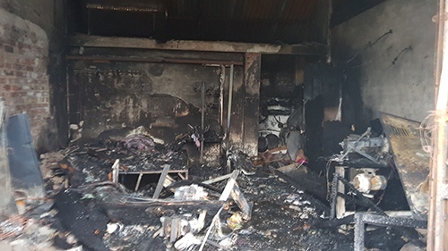 Hỏa hoạn, 3 mẹ con chết cháy trong đêm