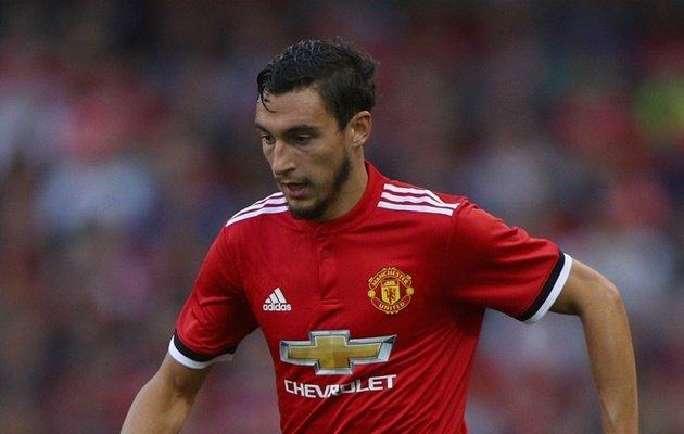 Matteo Darmian không được trọng dụng dưới thời Jose Mourinho.
