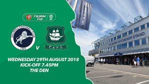 Millwall vs Plymouth (01h45 ngày 30/08, Cúp Liên đoàn Anh)