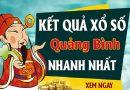 Soi cầu XS Quảng Bình chính xác thứ 5 ngày 18/07/2019