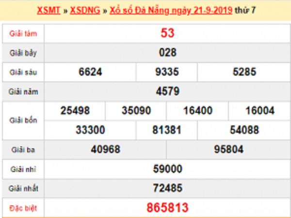 Kết quả xổ số đà nẵng-KQXSDN ngày 25/09 chính xác 100%