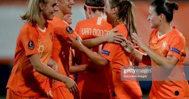 Tuyển nữ Hà Lan thắng dễ Thổ Nhĩ Kỳ trên sân đấu của đội bóng Văn Hậu