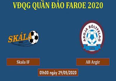 Nhận định kèo Skala vs AB Argir, 01h00 ngày 29/05