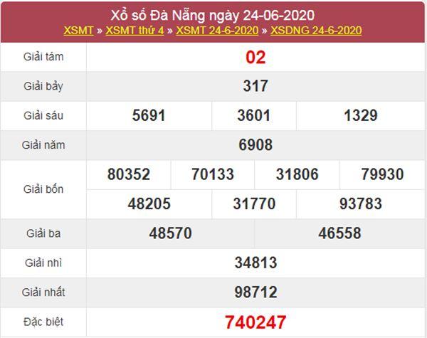 Soi cầu KQXS Đà Nẵng 27/6/2020 cực chuẩn cùng cao thủ