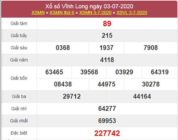 Dự đoán XSVL 10/7/2020 chốt lô số đẹp Vĩnh Long thứ 6