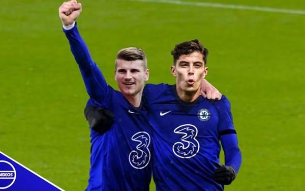Hai 'bom tấn' giải hạn, Chelsea thắng đậm ở FA Cup
