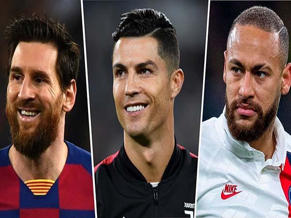 Thống kê top 5 cầu thủ lương cao nhất thế giới