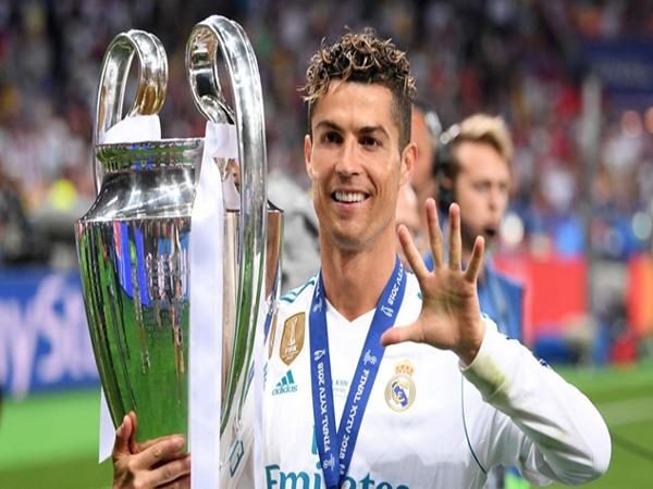 hình ảnh : CR7 khi còn ở clb Real Madrid