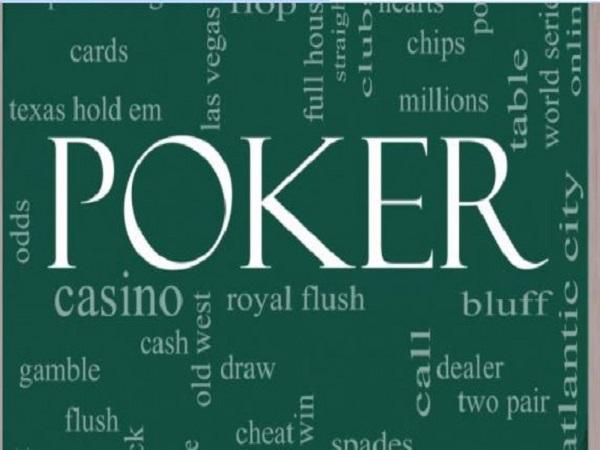 Rất nhiều thuật ngữ trong Poker