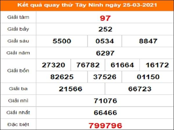 Quay thử Quảng Trị ngày 25/3/2021 thứ 5