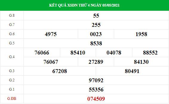 Soi cầu dự đoán XS Đồng Nai Vip ngày 12/05/2021