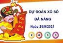 Dự đoán XSDNG ngày 25/9/2021 chốt lô số đẹp đài Đà Nẵng
