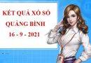 Phân tích kết quả sổ xố Quảng Bình thứ 5 ngày 16/9/2021