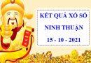 Phân tích xổ số Ninh Thuận 15/10/2021 – Dự đoán XSNT thứ 6